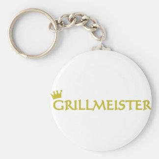 Icono de Grillmeister Llavero Redondo Tipo Pin