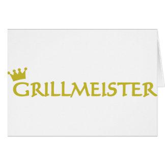 Icono de Grillmeister Tarjeta De Felicitación