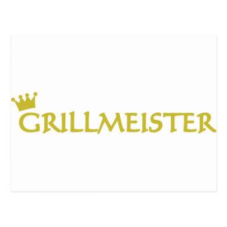 Icono de Grillmeister Tarjeta Postal