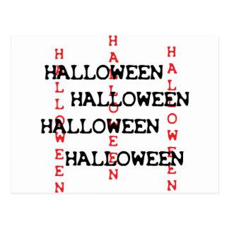 icono de Halloween Postal