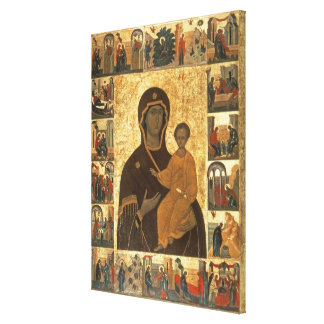 Icono de Hodegetria de la Virgen de Smolensk, c.14 Lona Envuelta Para Galerias