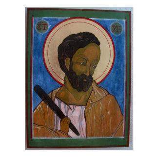 Icono de Jude del santo Postales