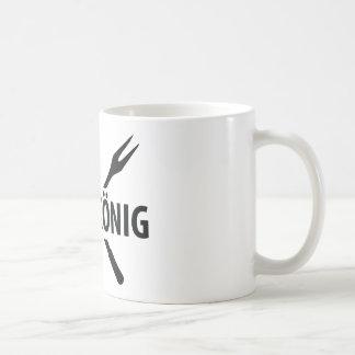 Icono de König de la parrilla Taza De Café