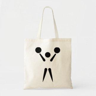 Icono de la animadora bolsas