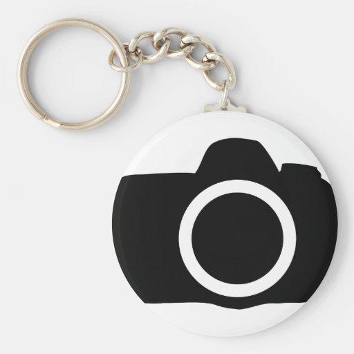 Icono de la cámara de SLR Llavero