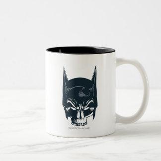 Icono de la capucha/del cráneo de Batman Taza De Café
