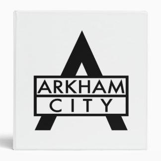 "Icono de la ciudad de Arkham Carpeta 1 1/2"""
