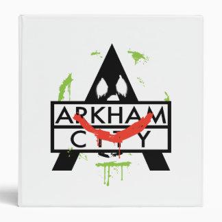 """Icono de la ciudad de Arkham con las marcas 2 del  Carpeta 1 1/2"""""""