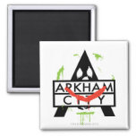 Icono de la ciudad de Arkham con las marcas 2 del  Imán Cuadrado
