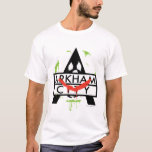 Icono de la ciudad de Arkham con las marcas 2 del Playera