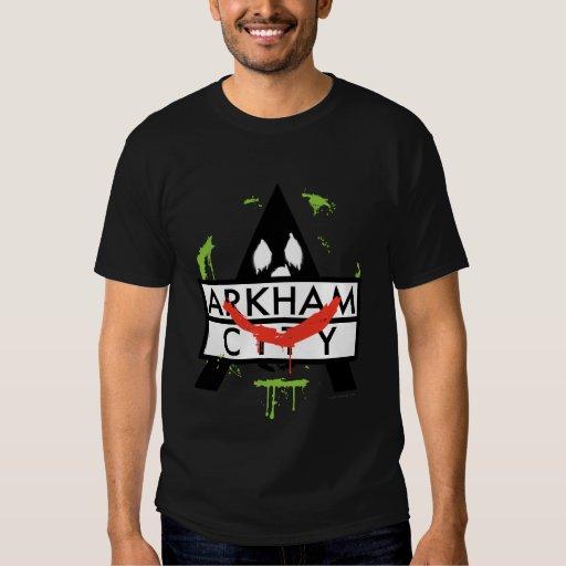 Icono de la ciudad de Arkham con las marcas 2 del Playeras