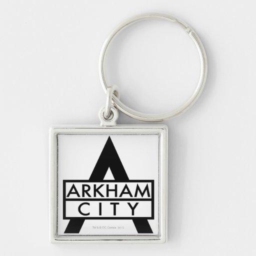 Icono de la ciudad de Arkham Llavero
