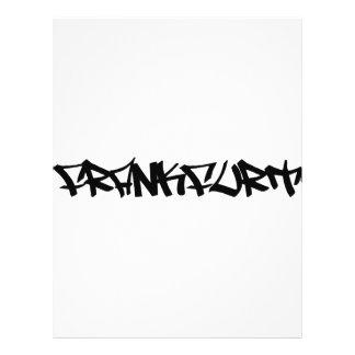 Icono de la ciudad de Francfort Tarjeton