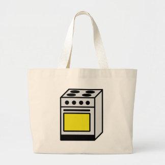 icono de la estufa del horno de la cocina bolsas