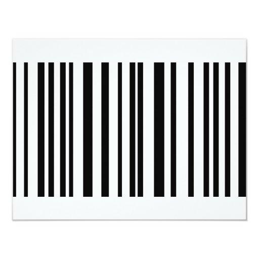 icono de la etiqueta de código de barras invitacion personalizada