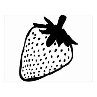icono de la fresa postales