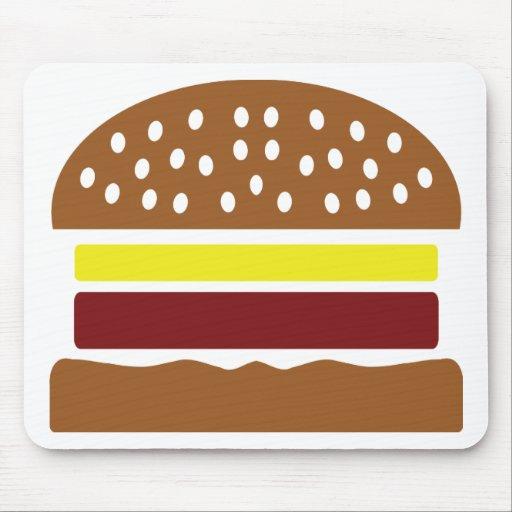 icono de la hamburguesa alfombrillas de ratón