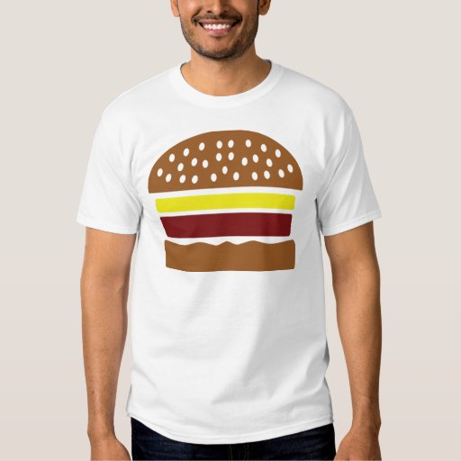 icono de la hamburguesa playeras