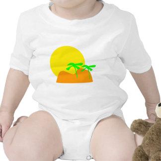 icono de la isla traje de bebé