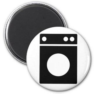 icono de la lavadora imán