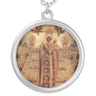 Icono de la madre más santa de dios (siglo XVII Grimpola