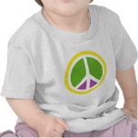icono de la paz camiseta
