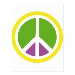 icono de la paz postal