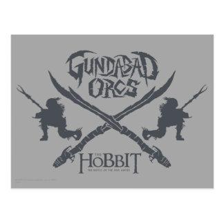 Icono de la película de Gundabad Orcs Postal