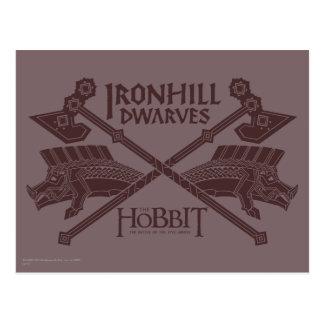 Icono de la película de los enanos de Ironhill Postal
