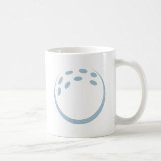 Icono de la pelota de golf taza de café