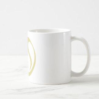 Icono de la pelota de tenis taza de café
