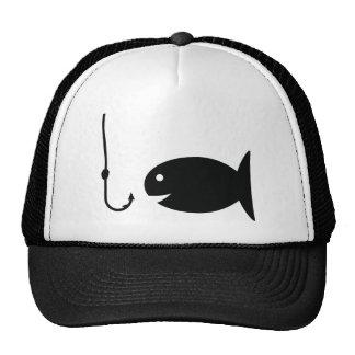 icono de la pesca gorras de camionero