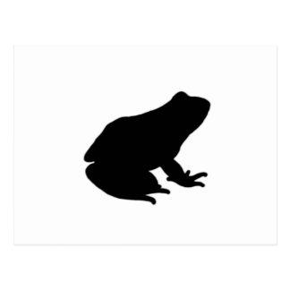 Icono de la rana postales