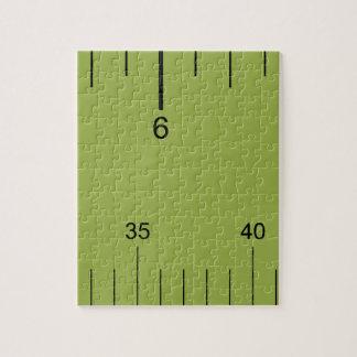 Icono de la regla de la pulgada de la pica puzzles con fotos