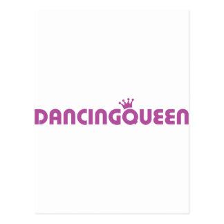 icono de la reina del baile tarjetas postales