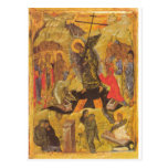 Icono de la resurrección tarjeta postal
