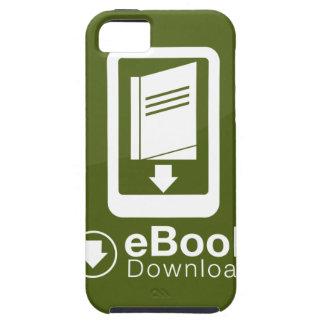 icono de la transferencia directa del eBook iPhone 5 Cárcasa