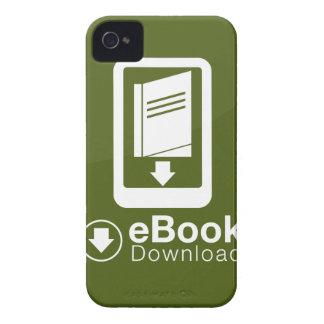 icono de la transferencia directa del eBook iPhone 4 Carcasas
