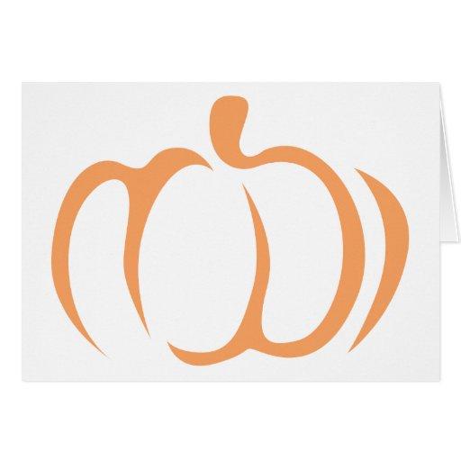 Icono de la verdura de la calabaza felicitacion