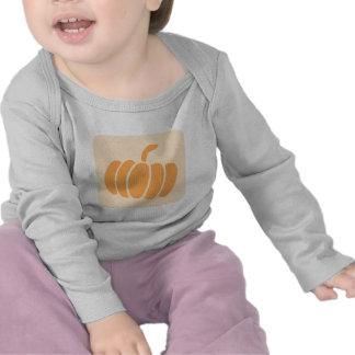 Icono de la verdura de la calabaza camisetas