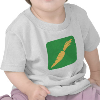 Icono de la verdura de la zanahoria camiseta
