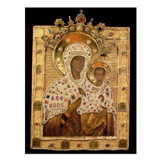 Icono de la Virgen, monasterio de Smolenskaja Postal