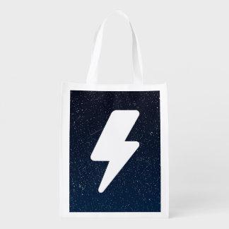 Icono de las corrientes eléctricas bolsa para la compra
