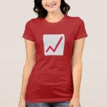 Icono de las estadísticas de la carta camiseta