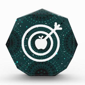 Icono de las manzanas del dardo