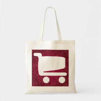 Icono de las oportunidades del comercio bolsa tela barata
