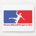 Icono de Legende del balonmano Alfombrilla De Raton