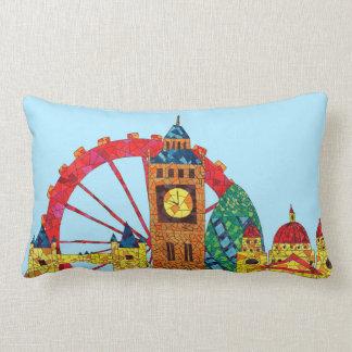 Icono de Londres que construye Mozaic Cojín