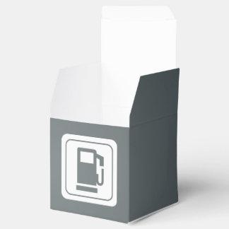 Icono de los cargadores del combustible cajas para regalos