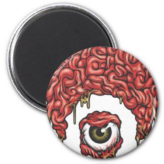 Icono de los cerebros de Osiris Imán Redondo 5 Cm